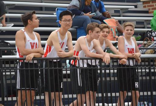 Varsity Track and Field Competes at Norfolk Academy during Spring Break