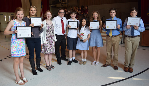Middle School Forensics Tournament Results