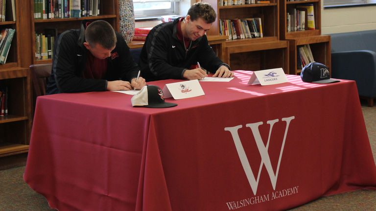 Two Trojans Sign To Play Collegiate Baseball Next Year