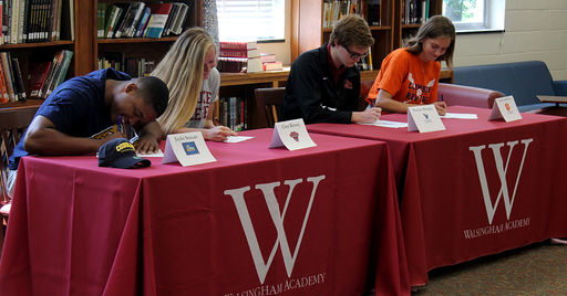 4 More Trojans Sign To Play College Athletics
