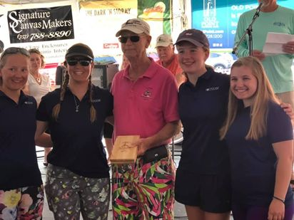 Walsingham Sailor Competes For Hampton Yacht Club's All-Women's Team