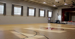 Lower School Gym Receives Beautiful Upgrade, New Name Thanks To Auction Donations