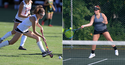 Late Goal Propels Field Hockey To Win; Girls Tennis Earns First Conference Victory
