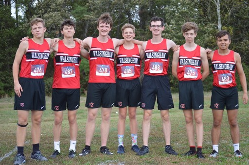 Trojans XC Competes In TCIS Championship