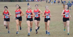 Trojan Cross Country Team Races To Season-Best Performances At VISAA