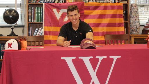 Tanner Schobel Makes It Official, Signs With Hokies Baseball